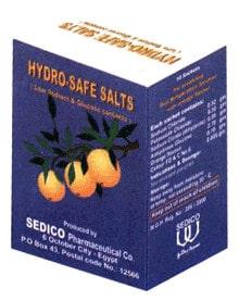 صورة,دواء,علاج, عبوة ,أملاح هيدرو, Hydro-Safe