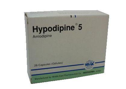 صورة , عبوة , دواء , لعلاج ارتفاع ضغط الدم , هايبودبين , Hypodipine