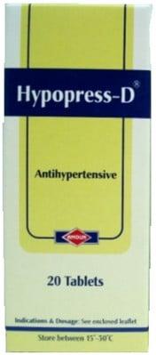 صورة,دواء, عبوة ,هيبوبرس دي, Hypopress D