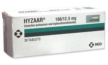 صورة , عبوة , دواء , أقراص , لعلاج إرتفاع ضغط الدم , هيزار , Hyzaar