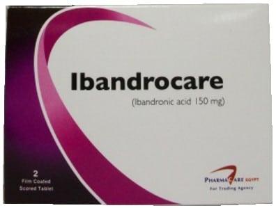 صورة,دواء, عبوة, اباندروكير ,Ibandrocare
