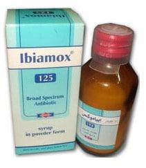 صورة , عبوة , دواء , شراب , إبياموكس , Ibiamox, شراب