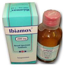 صورة , عبوة , دواء , إبياموكس , Ibiamox ,شراب