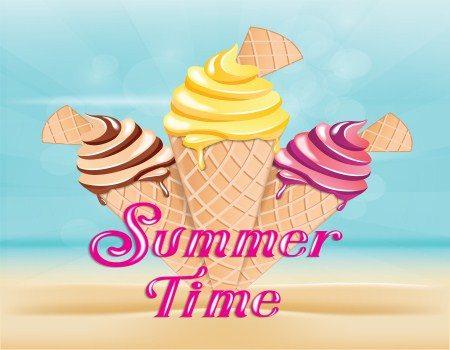 المثلجات ، فصل الصيف ، البارد ، أمراض الصيف