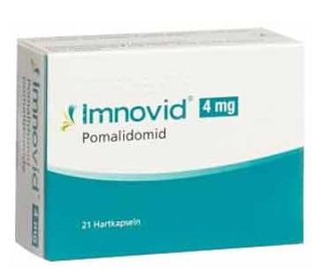 صورة , عبوة , دواء , كبسولات صلبة , لعلاج سرطان الورم النقوي المتعدد , إيمنوفيد , Imnovid