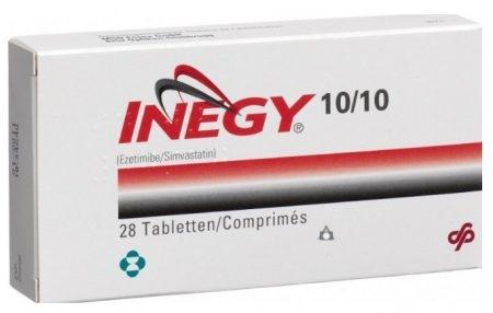 صورة , عبوة , دواء , أقراص , لعلاج ارتفاع الكوليسترول , إنجي , Inegy