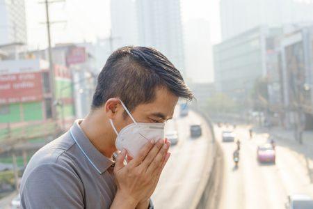 صورة , رجل , العدوى , الأمراض المعدية