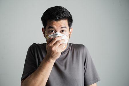 صورة , رجل , العدوى , الوباء , مرض الكوليرا