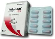 صورة , عبوة , دواء , إنفلاكام , Inflacam