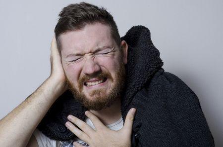 التهاب الأذن الوسطى , middle ear , صورة