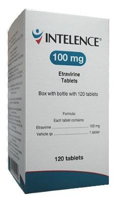 صورة , عبوة , دواء , أقراص , لعلاج فيروس نقص المناعة البشري , اينتيلنس , Intelence
