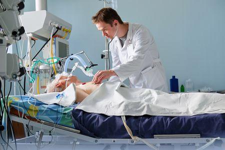 صورة , طبيب , العناية المركزة , طب الحالات الحرجة