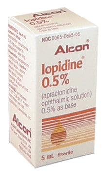 صورة , عبوة , دواء , قطرات للعين , لتخفيض ضغط العين , إيوبيدين , Iopidine
