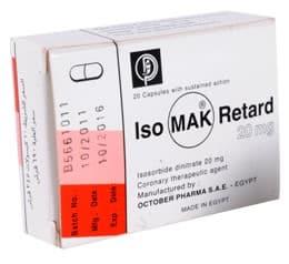 صورة,دواء,علاج, عبوة, ايزو ماك ريتارد, Iso Mak Retard