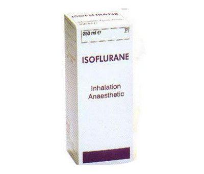 صورة , عبوة , دواء , للتخدير , أيزوفلوران , Isoflurane