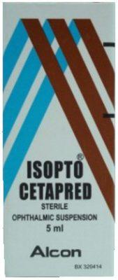صورة, عبوة,أيزوبتو سيتابريد, Isopto Cetapred