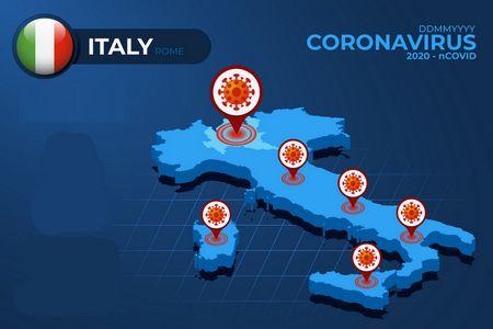 الوضع بين إيطاليا والكورونا , Italy Coronavirus