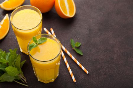 صورة , عصائر طبيعية , برتقال , احتباس السوائل