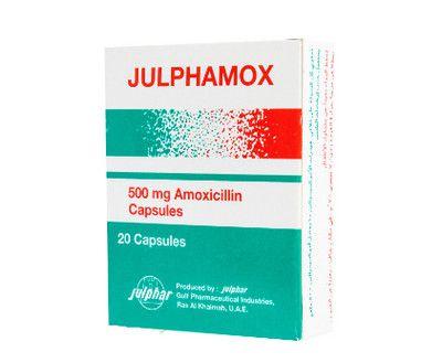 صورة , عبوة , دواء , مضاد حيوي , جلفاموكس , Julphamox