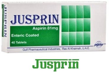 صورة, علاج, عبوة, دواء , جوسبرين , Jusprin