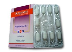 صورة , عبوة , دواء , أقراص , كابرون , Kapron