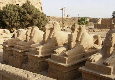 صورة , معبد الكرنك , الأقصر , مصر