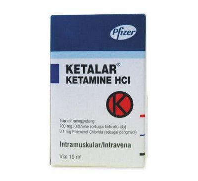 صورة , عبوة , دواء , يستخدم للتخدير , كيتالار , Ketalar