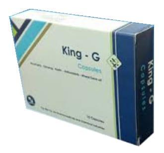 صورة,دواء,علاج,فيتامينات, عبوة, كنج-ج , King-G