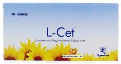صورة,دواء, عبوة, ل ست, L-Cet