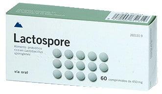 صورة , عبوة , دواء , أقراص , علاج إضطرابات الهضم , لاكتوسبور , Lactospore