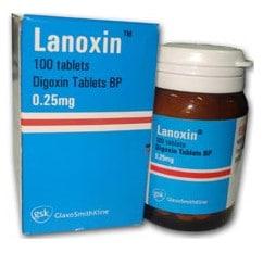 صورة , عبوة , دواء , لانوكسين , Lanoxin