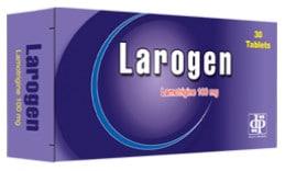 صورة,دواء, عبوة, لاروجين, Larogen