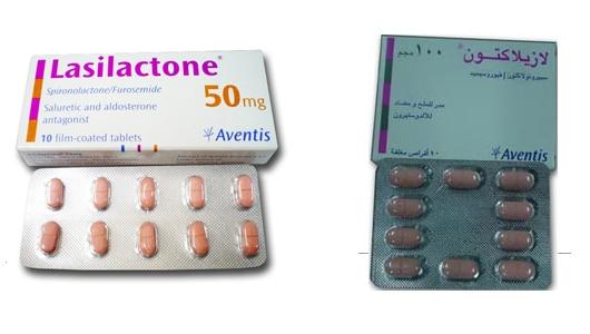 صورة: عبوة , دواء , لازيلاكتون , Lasilactone