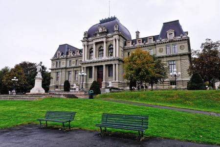 لوزان ، سويسرا ، بحيرة جنيف ، متحف الإليزيه ، المتحف الأوليمبي ، سوفابلان ، متحف موداك