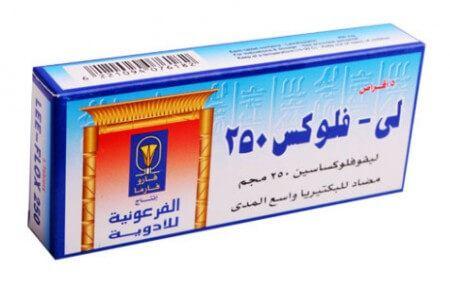 صورة,دواء,علاج, عبوة, لى فلوكس, Lee-Flox 250