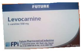 صورة , عبوة , دواء , أقراص , لعلاج نقص الكارنتين , ليفوكارنين , Levocarnine