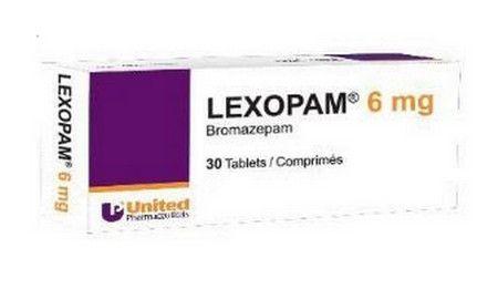 صورة , عبوة , أقراص , لكسوبام , Lexopam