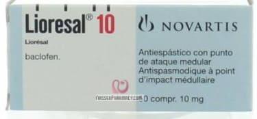 صورة,دواء, عبوة, ليوريزال, Lioresal
