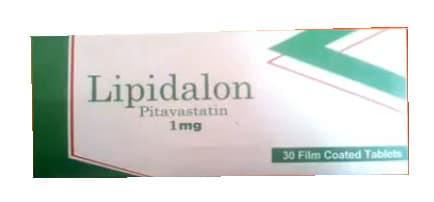 صورة , عبوة , دواء , أقراص مغلفة , لعلاج إرتفاع الدهون , ليبيدالون , Lipidalon