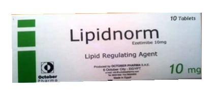 صورة , عبوة , دواء , أقراص , لعلاج إرتفاع الكوليسترول في الدم , ليبيدنورم , Lipidnorm