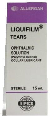 صورة, عبوة, قطرة العين ,ليكويفيلم تيرز, Liquifilm Tears