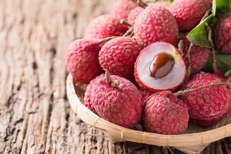 صورة , الليتشي , الفواكه