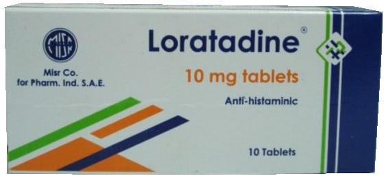 صورة, عبوة, لوراتادين, Loratadine