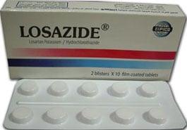 صورة , عبوة , دواء , أقراص , لوزازيد , Losazide