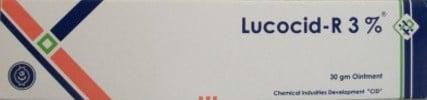 صورة,عبوة, مرهم, ليكوسيد ر , Lucocid-R