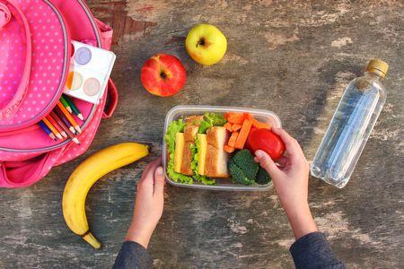 صورة التغذية الصحية لطلاب المدارس