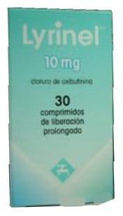 صورة , عبوة , دواء , أقراص , لعلاج حالات زيادة نشاط المثانة , ليرينل , Lyrinel