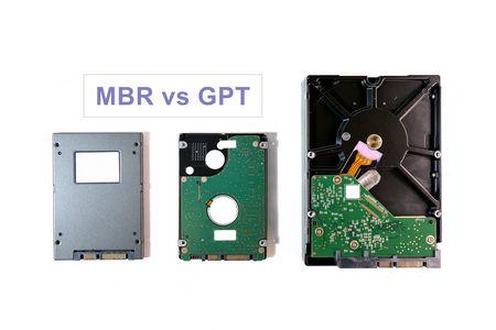 MBR vs GPT , الهارد ديسك , Hard Disk