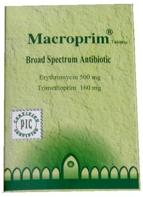 صورة,دواء,علاج, عبوة, ماكروبريم, Macroprim