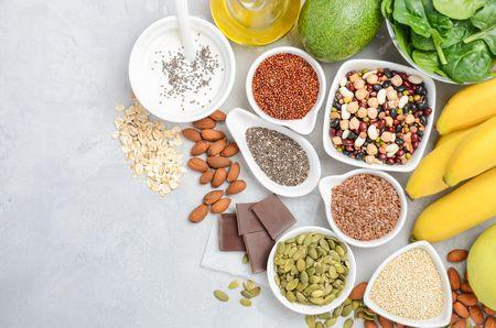 المغنيسيوم في الطعام , مصادر المغنيسيوم